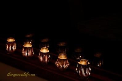 baby food jar candles