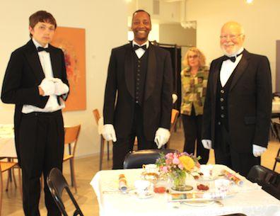 Downton footmen