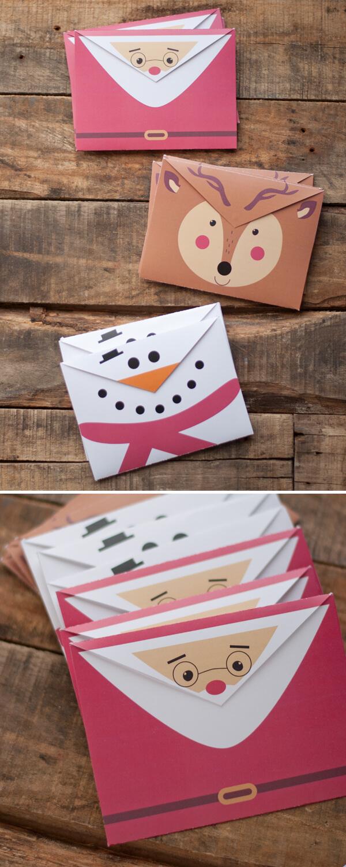 photo relating to Printable Christmas Envelopes identify Printable Getaway Envelopes this center of mine