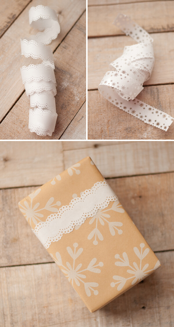 Punched Paper Ribbon | this heart of mine
