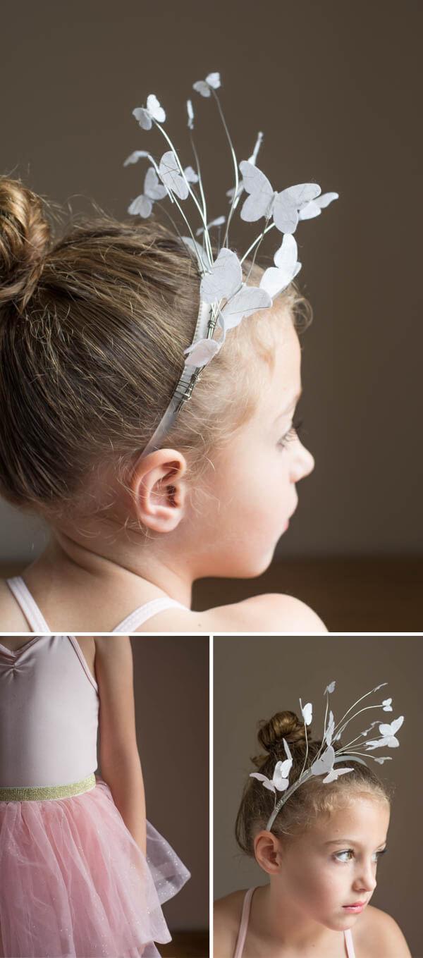 Easy Headband for a Ballerina Costume   this heart of mine