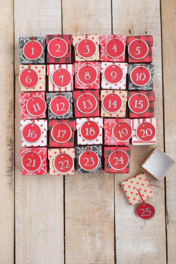 Advent Calendar Boxes • this heart of mine