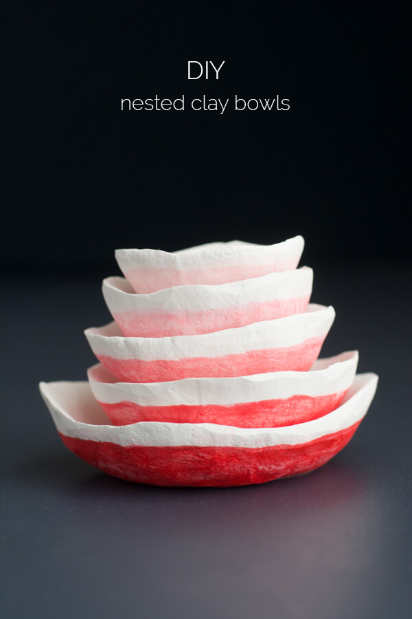 Handmade Nested Clay Bowls | this heart of mine