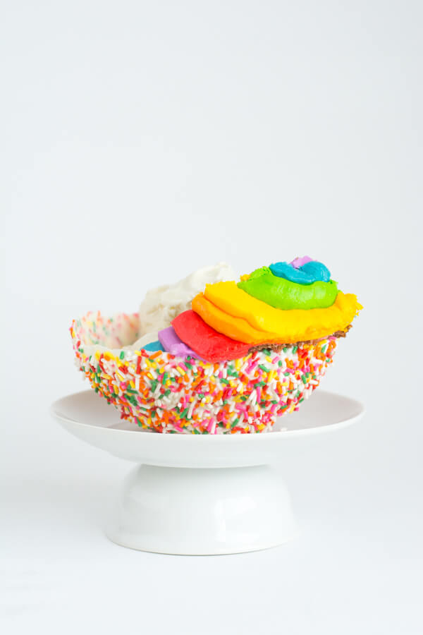 A Sprinkle Bowl for Ice Cream!   this heart of mine