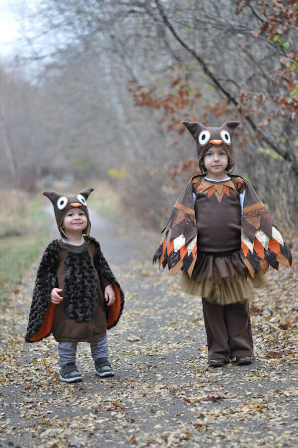Owl Halloween Costumes by Amy Christie