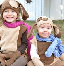 Fleece Puppy Halloween Costumes