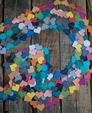 Handmade Gifting - Paper Heart Garlands