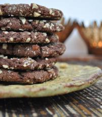Nutella Hazelnut Cookies