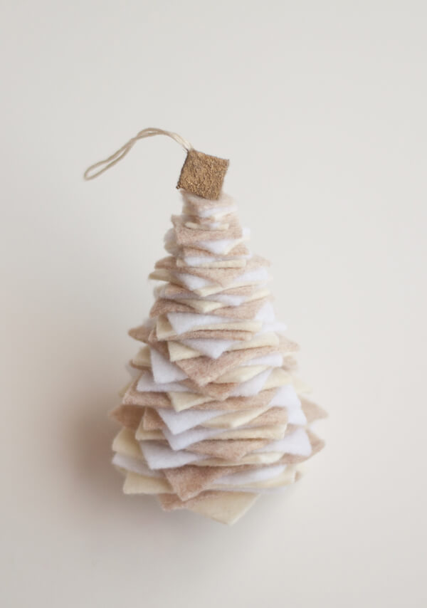 Felt Tree Ornament | this heart of mine