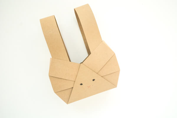 Paper Bunny Baskets: Simple, Easy & So Adorable   this heart of mine
