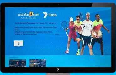 Portfolio Tennis Screen 1
