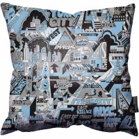 Jeremyville - NYC Pillow