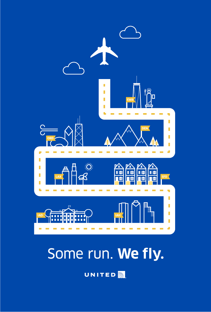 Some Run, We Fly.
