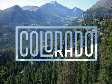 """Colorado - Type Fun"" by Tyler Merritt"