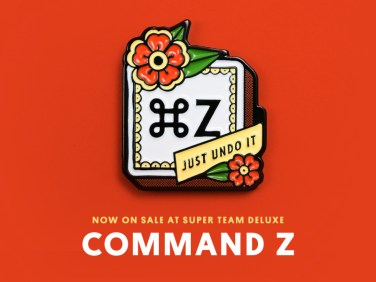 """Super Team Deluxe: Command Z"" by Justin Mezzell"
