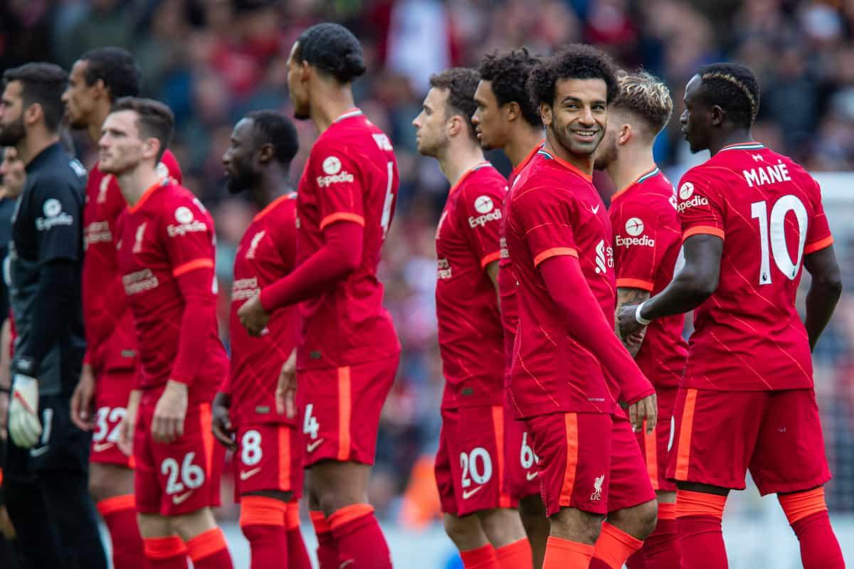 Liverpool predicted lineup vs Burnley