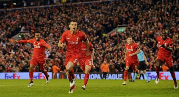 EUROPA: LIVERPOOL EDGE DORTMUND TO PROGRESS TO SEMIS