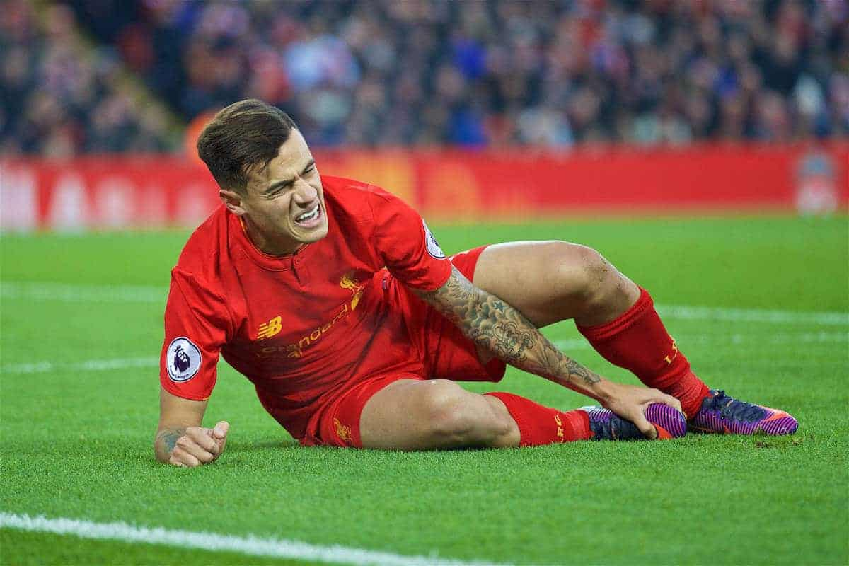 足踝韌帶受傷,古天奴需休戰至少六星期   利物浦---永遠的紅戰士   球迷世界 - fanpiece