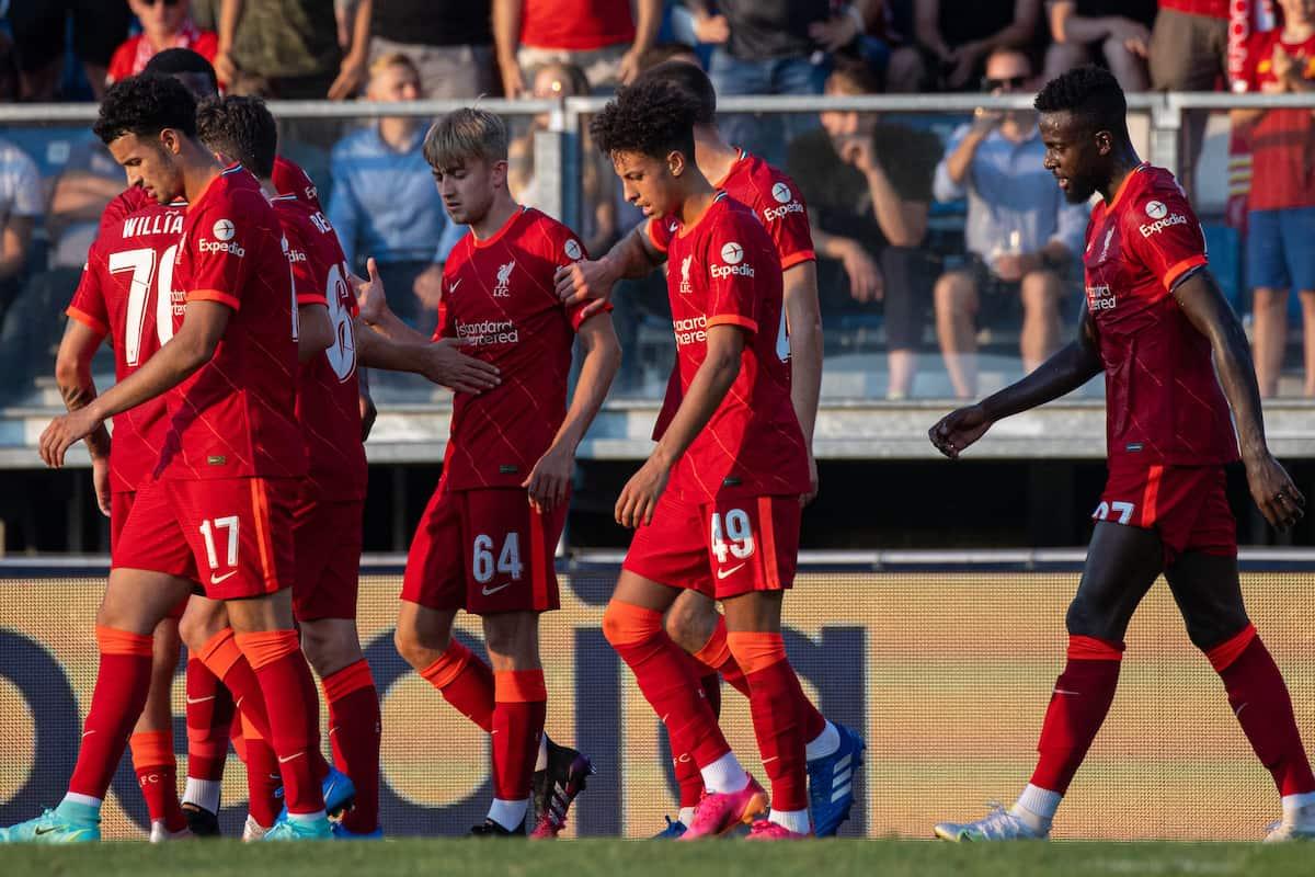 Liverpool predicted lineup vs Hertha Berlin