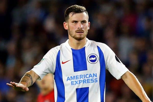 Brighton & Hove Albion's Pascal Gross (Gareth Fuller/PA Wire/PA Images)