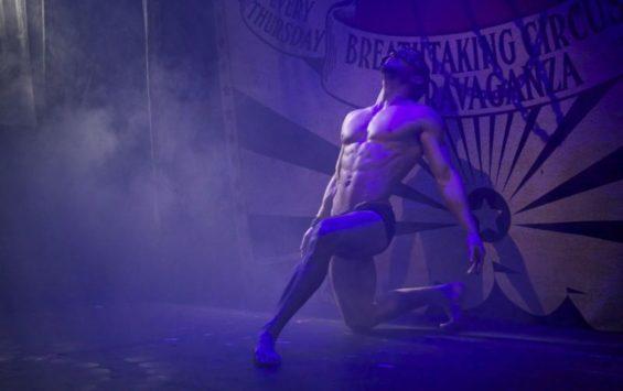 Stephen Williams at Boom & Bang Circus (c) Lisa Thomson