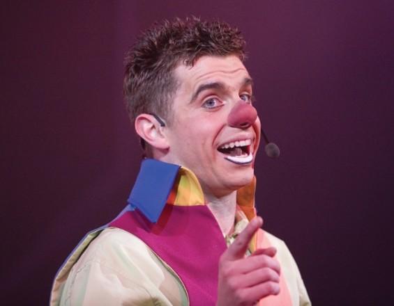Modern clown Danny Adams