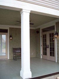 Exterior Porch Details for Traditional Materials