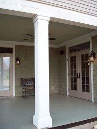 Exterior Porch Details for Traditional Materials ...