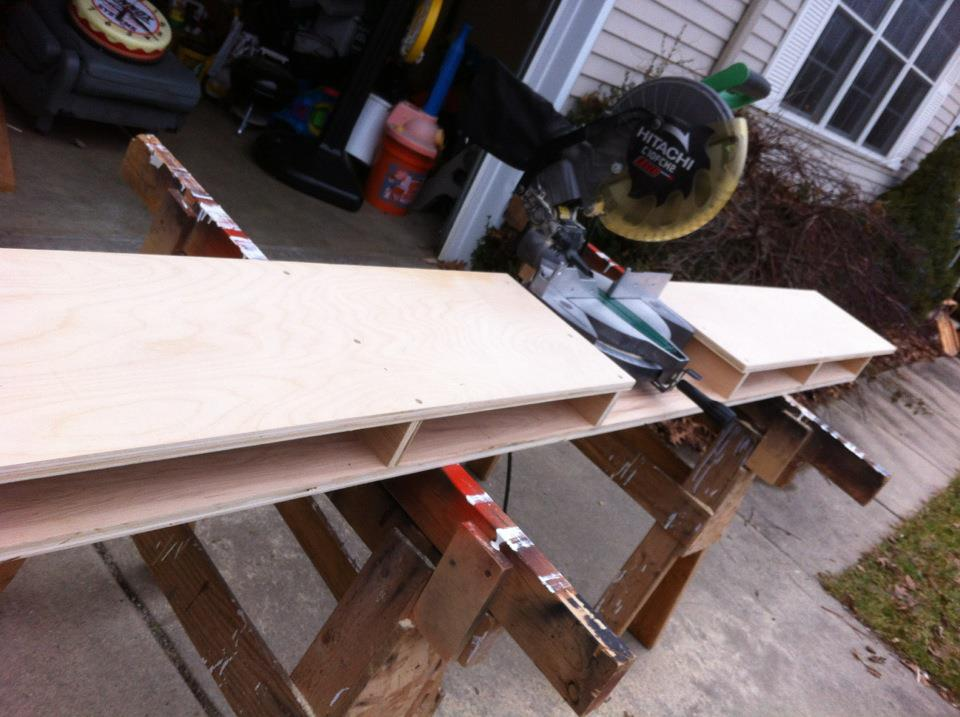 Folding Miter Saw Table