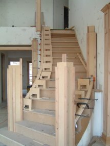 How to Build Curved Staircase