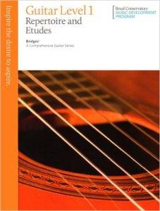 Bridges Graded Guitar Books (Royal Conservatory of Music)