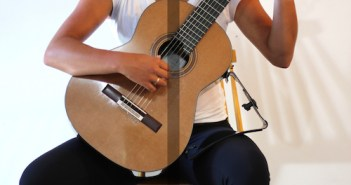 Sitting Position & Posture (Support Diagram) - Classical Guitar