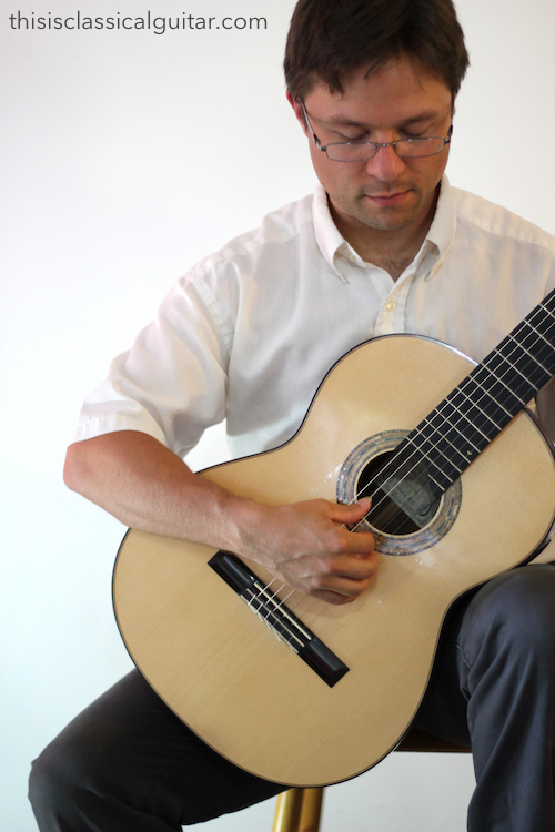 Right Hand Position - Classical Guitar