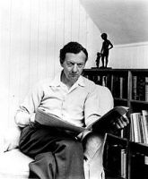 Benjamin Britten in the 1960's