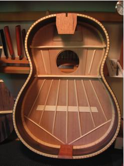 Classical Guitar Bracing Modern Yamaha