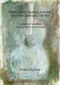 Baroque Music on Classical Guitar by Peter Croton