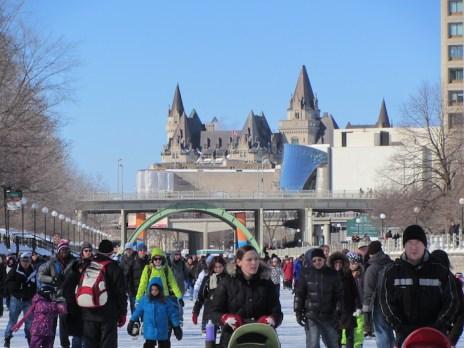 8 Winterfest, Ottawa-skating on the Rideau Canal