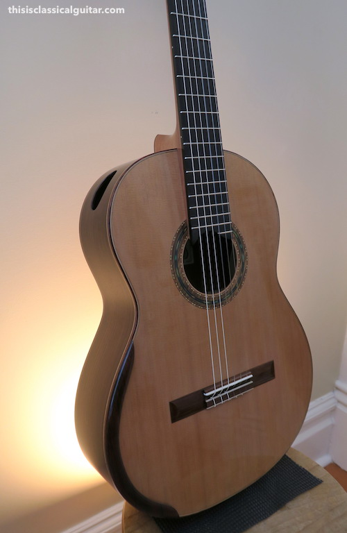 2016 dominelli double top guitar this is classical guitar. Black Bedroom Furniture Sets. Home Design Ideas