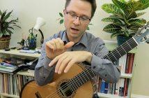 Tremolo Lesson for Classical Guitar