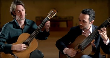 Henderson-Kolk Guitar Duo play Schubert