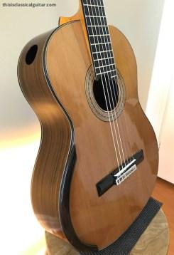 De Casicia - Sylvia Classical Guitar - Top and Side