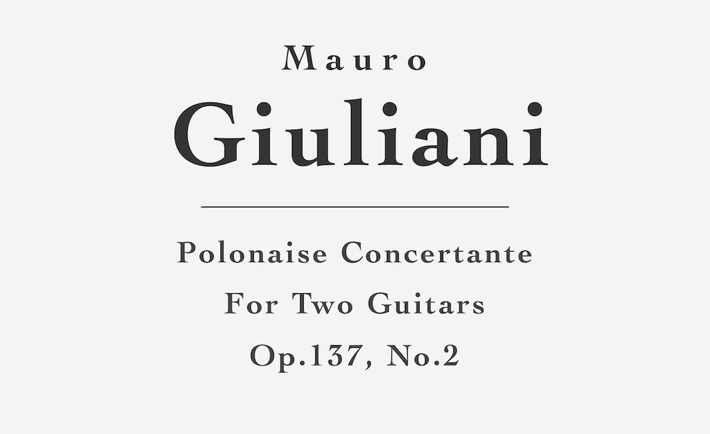 Polonaise Concertante, Op.137, No.2 by Giuliani (Guitar