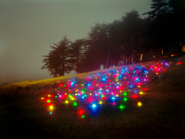 Landscape Light Sculptures sculpture photography light installation art