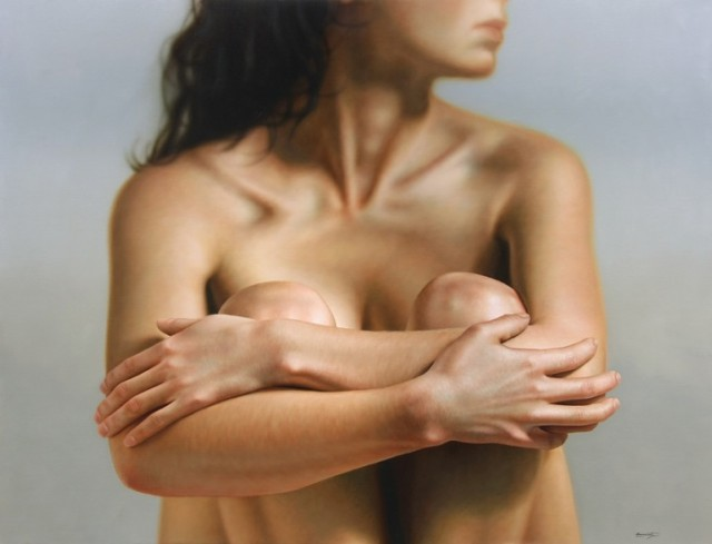 Hyper realistic Painting by Omar Ortiz painting art