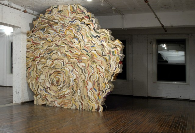Stacked Book Sculptures by Jonathan Callan  Colossal