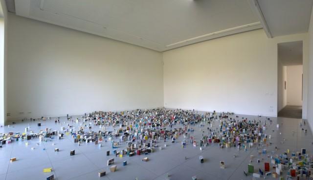 Stacked Book Sculptures by Jonathan Callan sculpture books