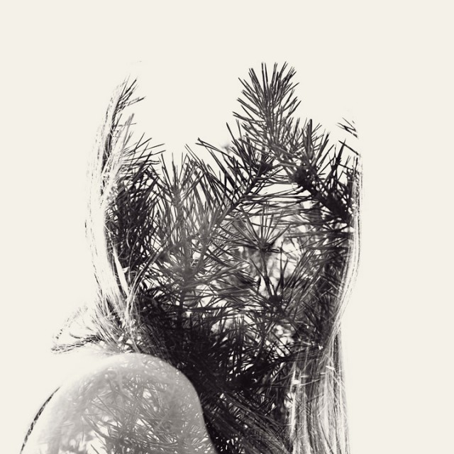 We Are Nature: New Multiple Exposure Portraits by Christoffer Relander photography