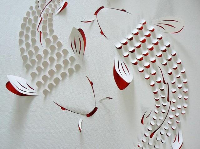 The Hand Cut Paper Art of Lisa Rodden paper