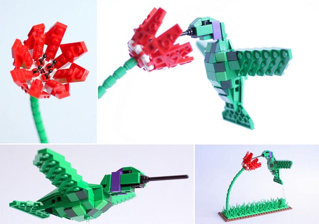 Tropical Lego Birds Lego birds
