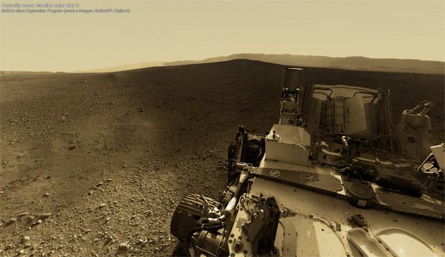 An Interactive 360° Panorama of Curiositys Landing Site on Mars space Mars